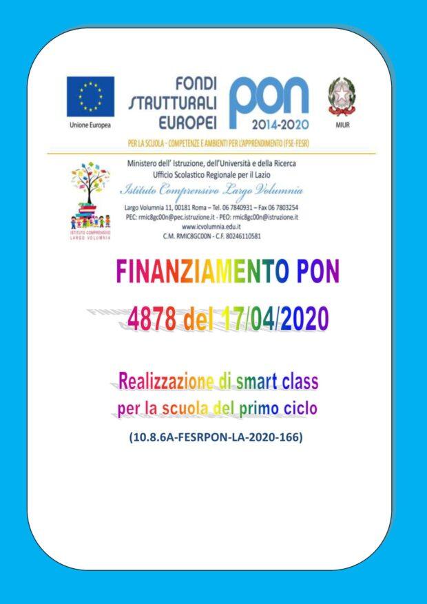 Finanziamento PON 2020
